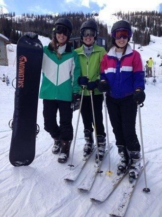 Enjoying Wolf Creek w Arrow Heights students & my 3 daughters!