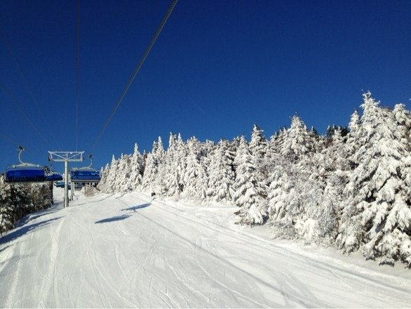Great day at Mt Snow today!  But still waiting on Blue Bird.