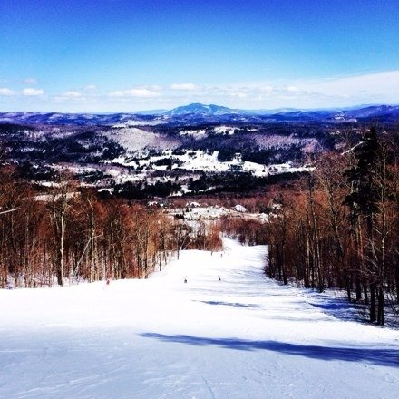 This is one of the best seasons we have had in a long time get your butt up to Okemo it's amazing every trail is fully covered!