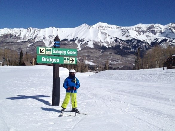 Skiing is great here. The views are a sight one should see. Lots of mountains to look at.