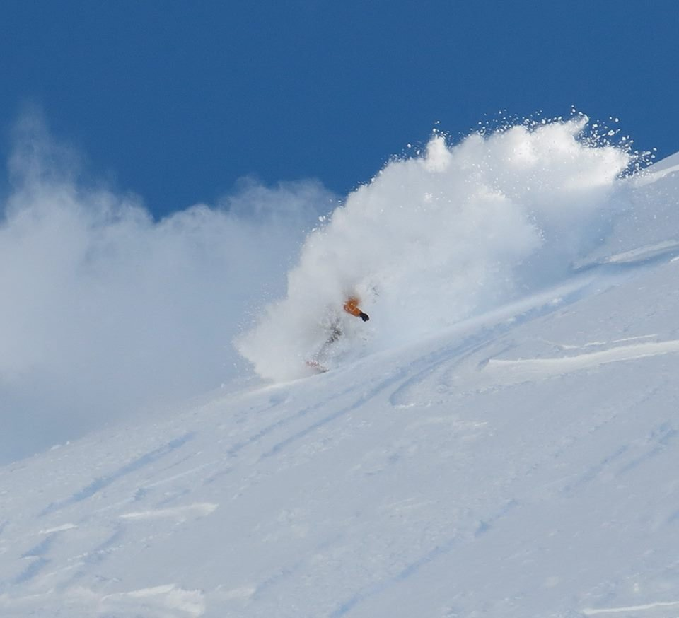 Ski season is in full effect in Valdez, AK. - ©Doug Krause