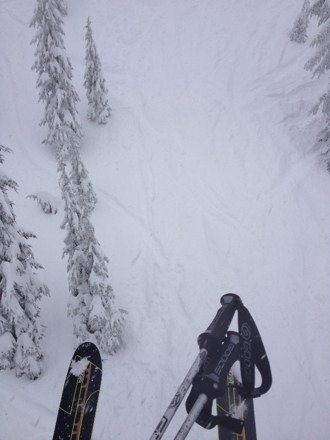 Some of the sickest powder I've skied in years. Happening right now.
