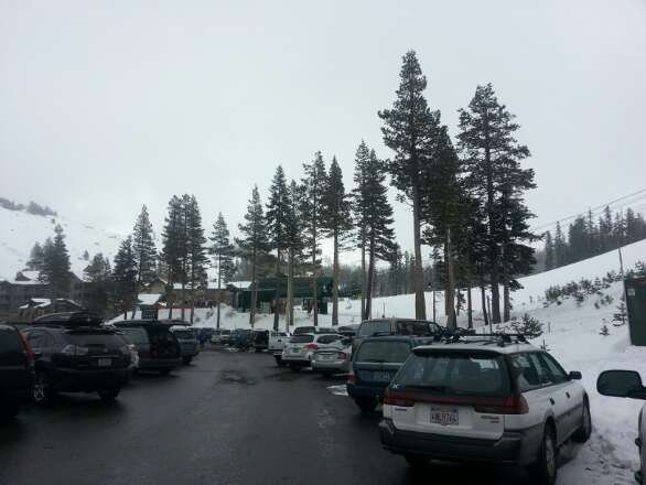 awesome day off sentinel bowl off to  palisades today 2' freshies  yeeehaaaa