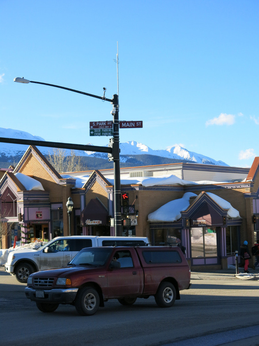 In Breckenridge, Colorado