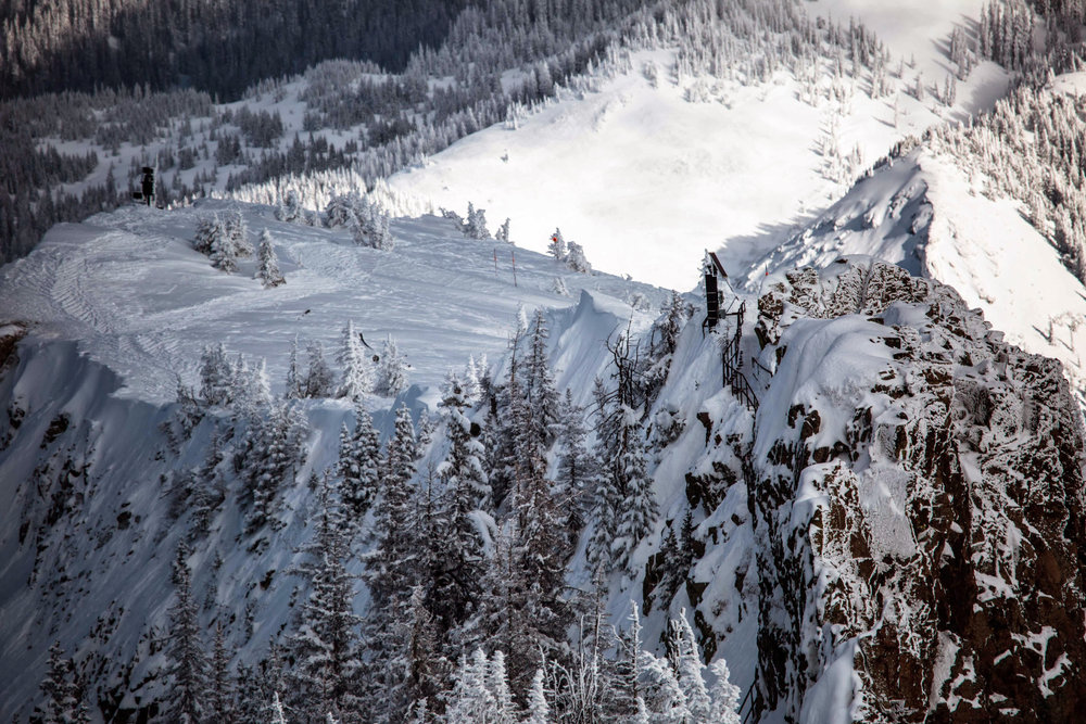 The Knife Ridge Staircase at Wolf Creek Resort. - ©Courtesy of Wolf Creek Resort
