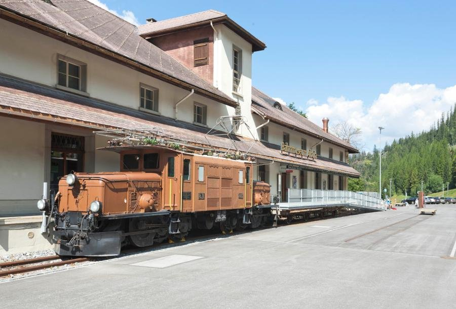 Learn more about the history of train travel in Graubuenden in the rail museum in Bergun - ©Graubünden Ferien