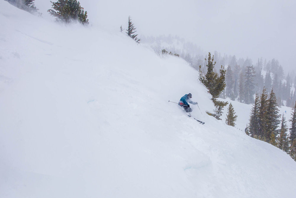 Steep and deep at Mammoth. - ©Mammoth Mountain