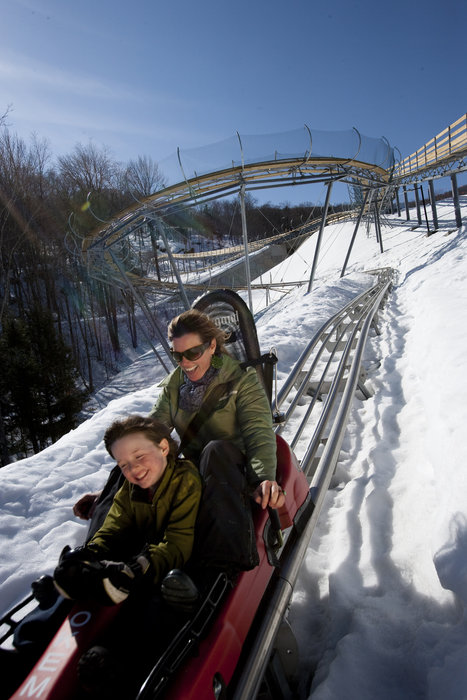 Okemo mountain coaster.