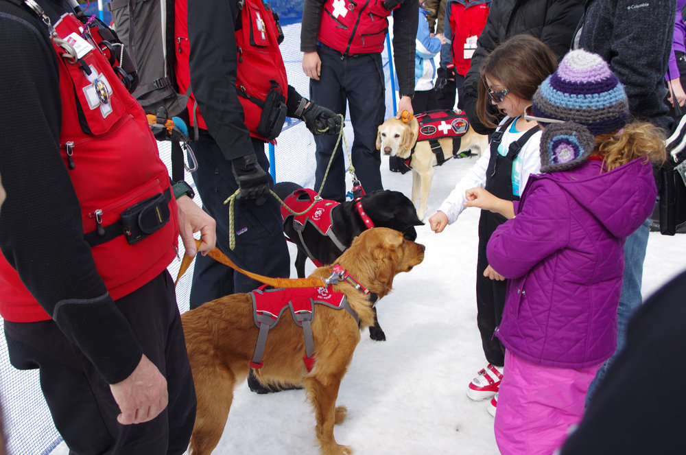 Park City Mountain Resort's Snowasis brings with it a slew of multi-day events, including a kids carnival, on-hill schwag scavenger hunts and avalanche dog demonstrations.