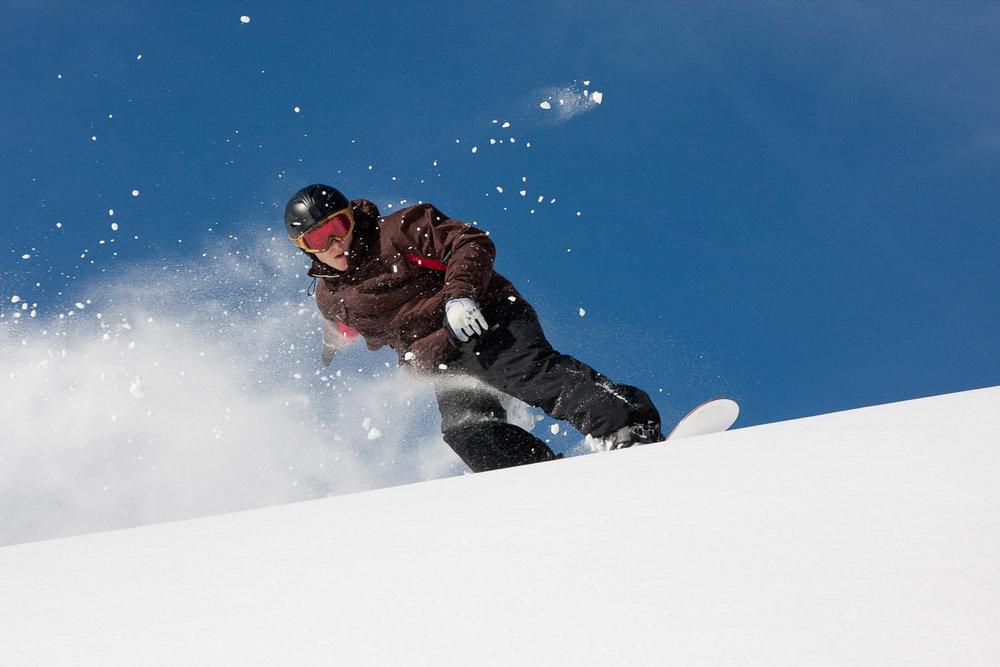 Snowboarding Snowbird