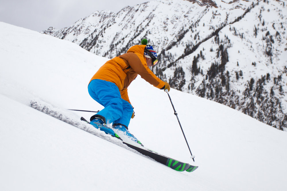 Testers lapped the Gadzoom lift nonstop on the first day of Ski Test, 2014. - ©Cody Downard Photography