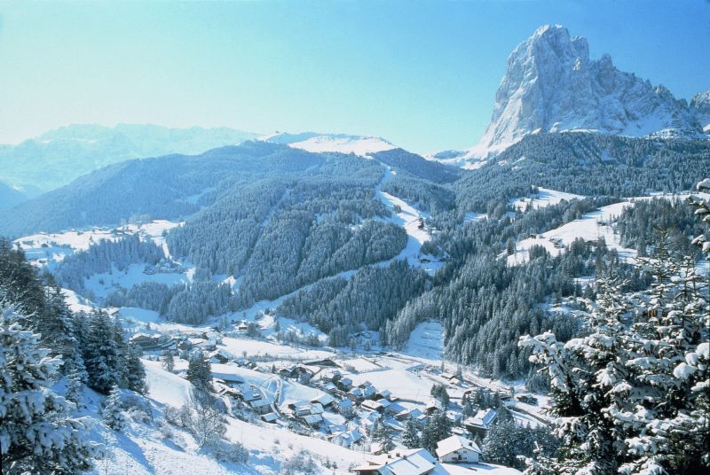 Picturesque Val Gardena, Italy