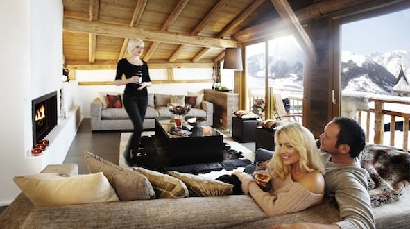 Luxury Chalet Abode - ©the alpine club @ Skiinfo Lounge