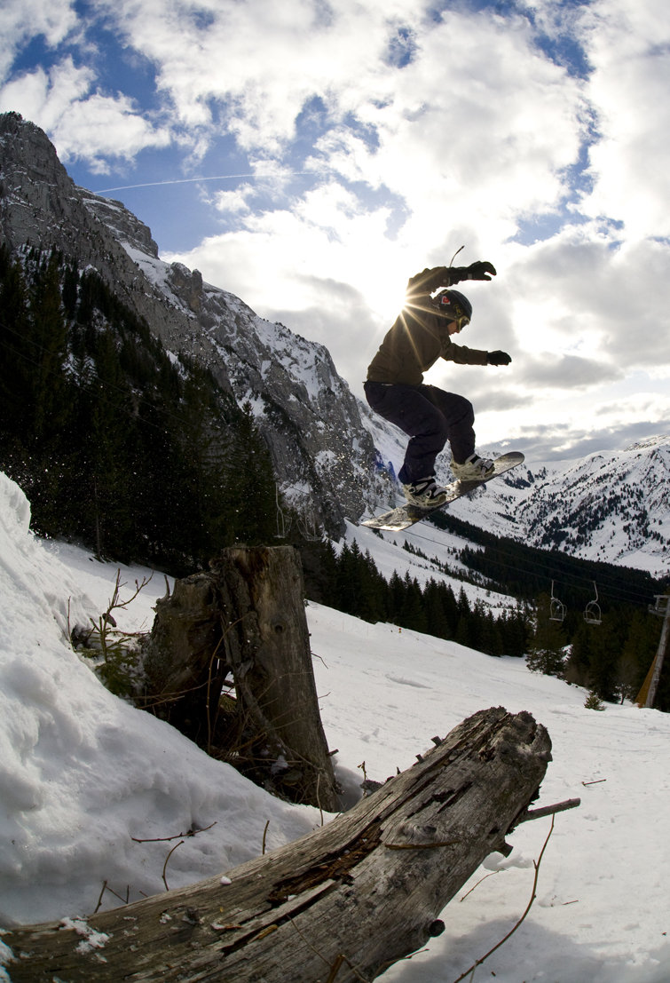 tree stump | Ieuan Jehu - ©arranheathphotography.com | dirtbunny @ Skiinfo Lounge