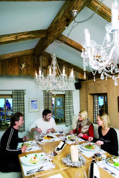 Diners in Obergurgl, AUT.