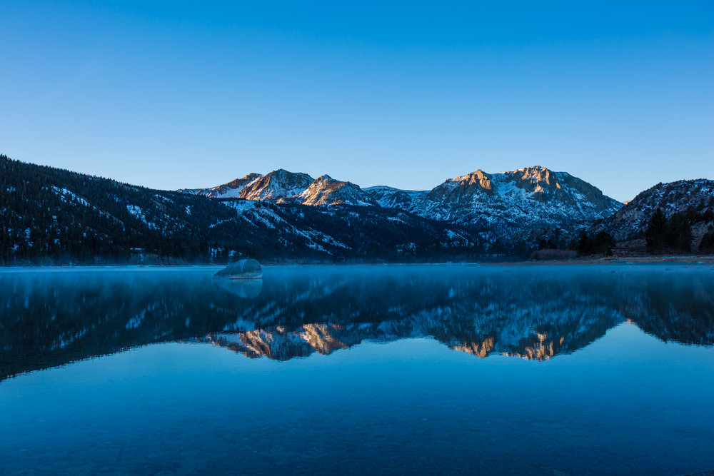 June Mountain in the Southern Sierra Mountains of California. - ©Peter Morning