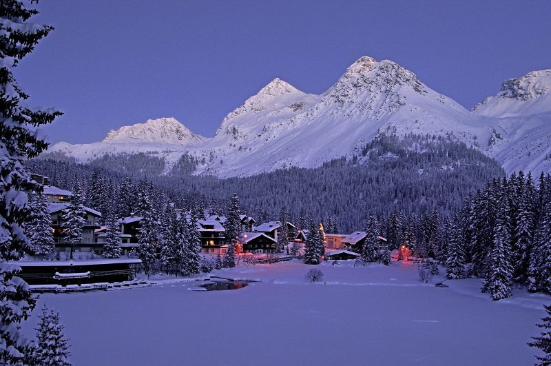 Sundown at Arosa SUI