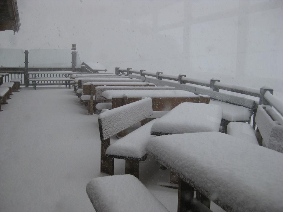 Viel Schnee auch in der SkiWelt, wie hier auf der Tanzbodenalm