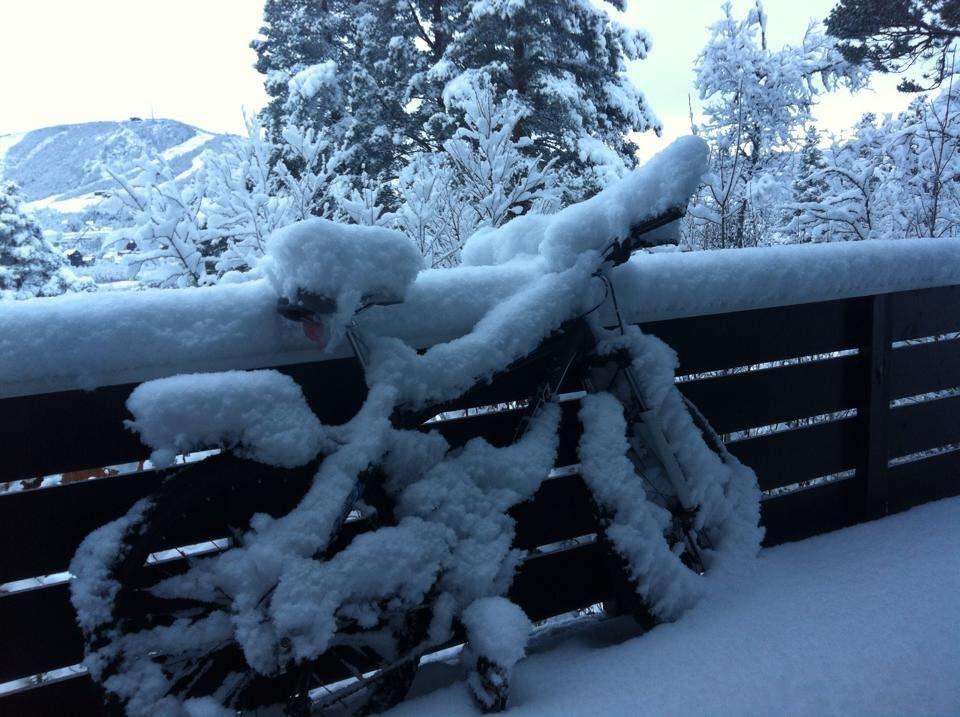 Erster Schnee in Geilo (NOR) - ©Geilo