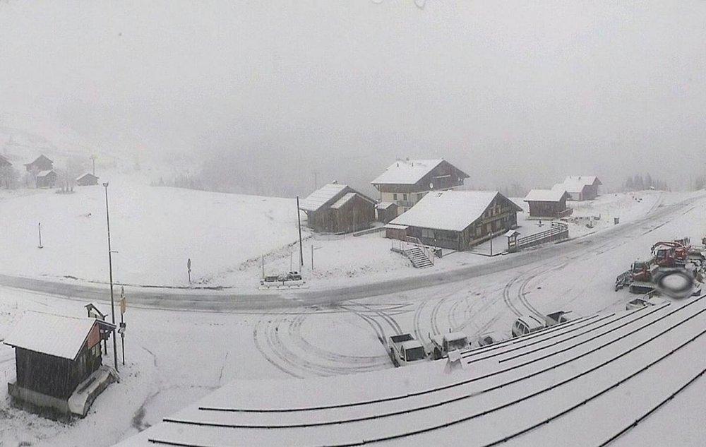 Schneefall in Frankreich, 5. November 2014