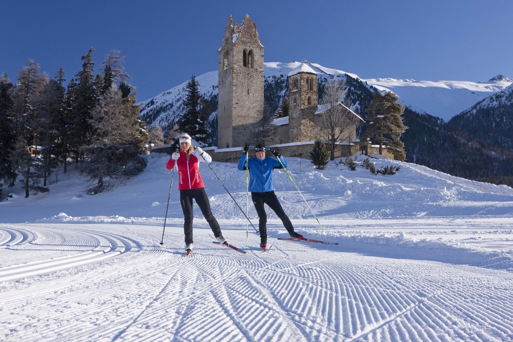 There is also place for nordic sports - ©swiss-image.ch/Christof Sonderegger