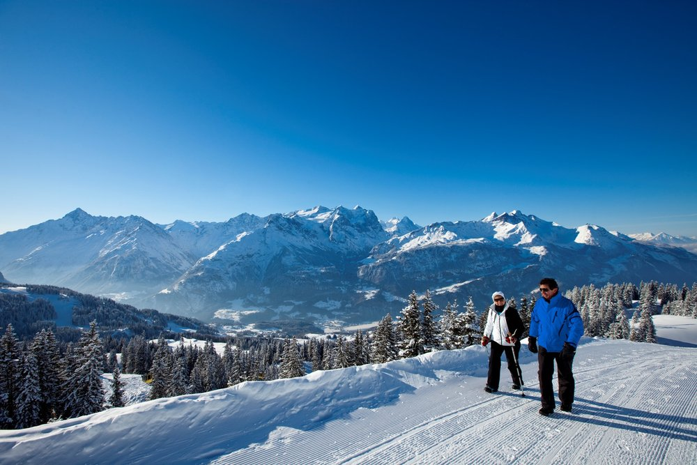 Forbear from the pistes and enjoy the nature - ©David Birri