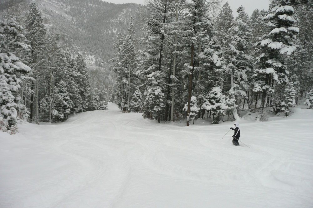 Conditions looking amazing at Sipapu in New Mexico. - ©Sipapu Ski and Summer Resort