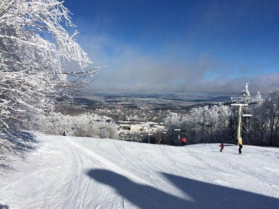 Perfect snow, perfect day!