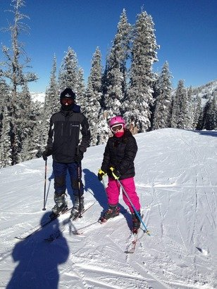 Great day after the storm. Still need more snow but it was a great day!