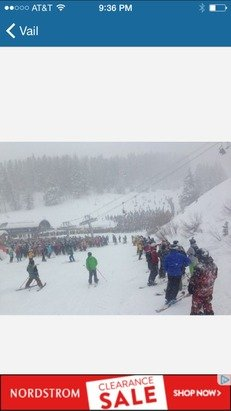 Meanwhile at vail.....
