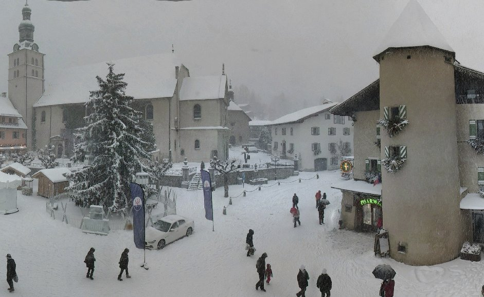 Zentrum von Megeve am 27. Dezember 2014 - ©Megeve