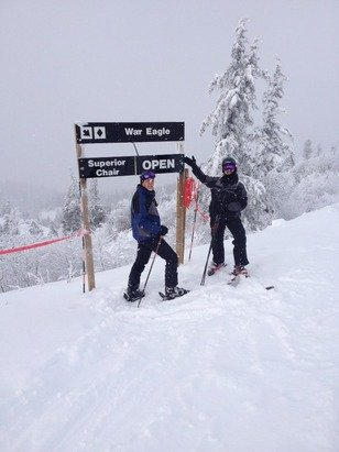 Great day and the powder was awesome!