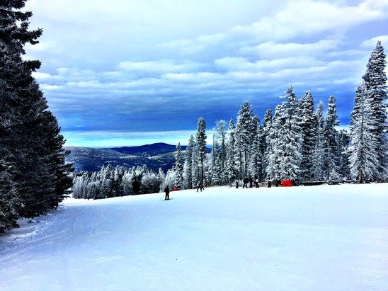 Perfect day on the slopes today.