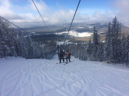 Great day at snowbowl