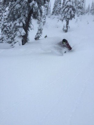 It was Deep yesterday!