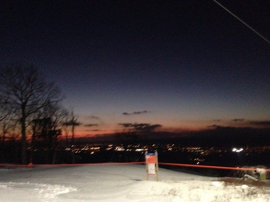 There's so much more snow, can't wait until Spike and Fast track open. Overall the slopes are nice, some icy spots but it was a fun night!