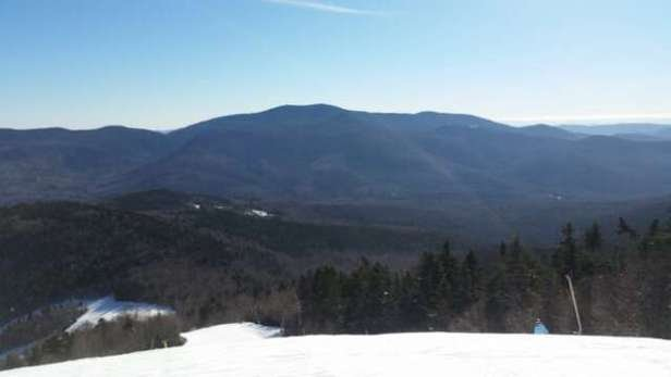 All mountain trails are awesome and glades are almost untouched.  Get out there now!
