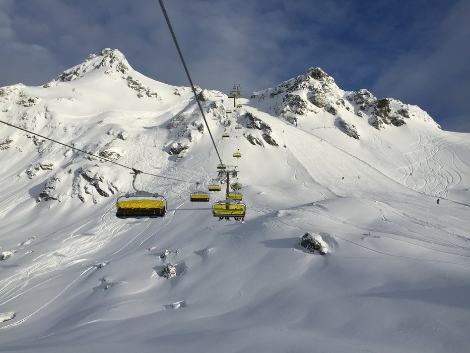 The anticipation of skiing grows with every step you take - ©Obertauern