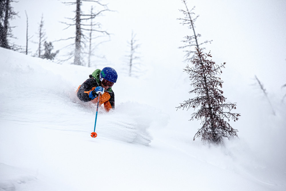 Powder bliss for Sven Brunso. - ©Liam Doran