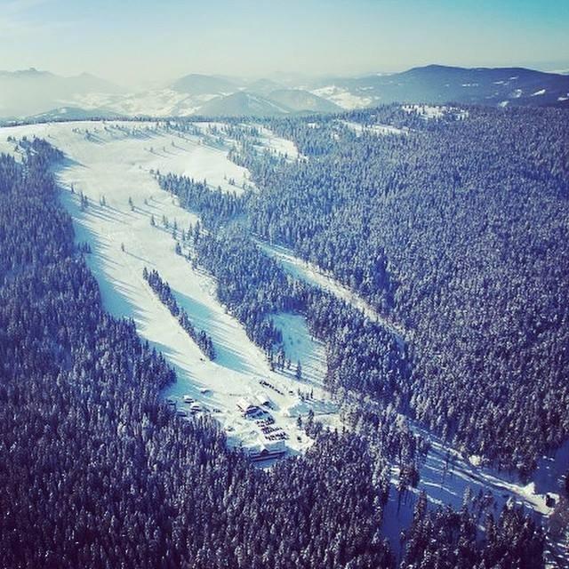 Ski resort Zábava - Hruštín, Slovakia