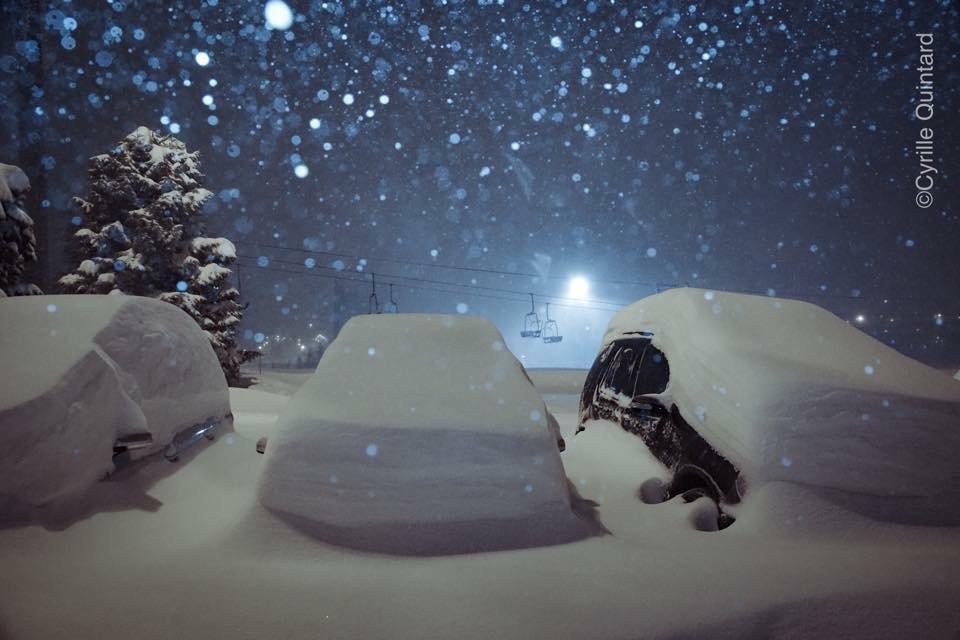 Alpe d'Huez Jan. 29, 2015 - ©Cyrille Quintard