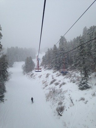 Had a great day at sandia yesterday lots of powder, snowed most of the day!
