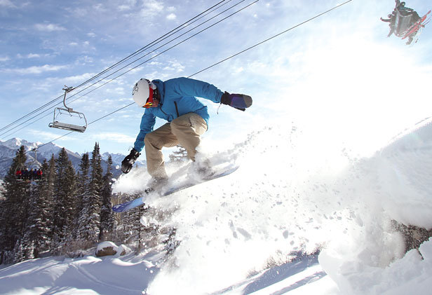 Add another day to add even more powder under blue skies at Purgatory! - ©Durango Mountain Resort