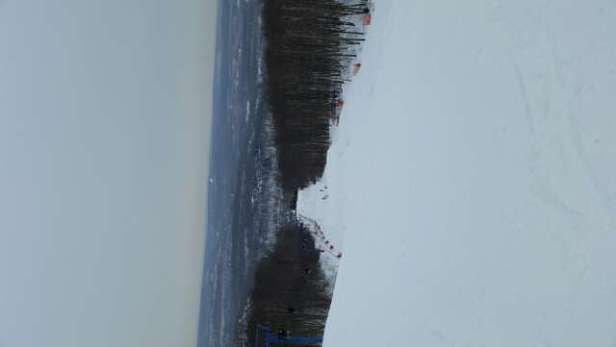 excellent conditions, no crowd snowing, no complaints
