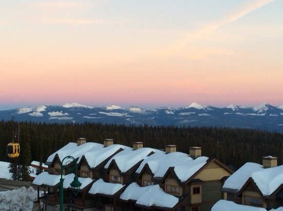Late afternoon in Big White.