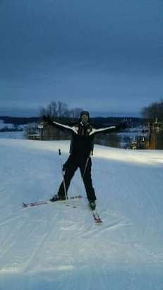 Loved Paoli Peaks, Never have I ever been able to ski until 4am. great time and actually got some good snow last night