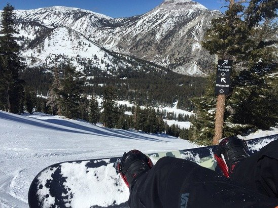 Great day. Less than squaw. More snow. Last day on my trip. Considering conditions locally right now this is great.