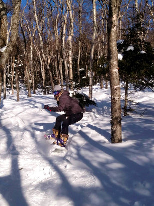 Best day for some back yard boogie ing Powder was beautiful  Skies were blue Runs were long And the air was thin