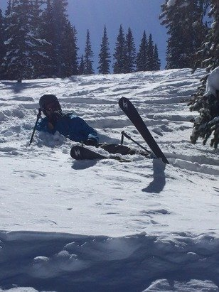 Aspen / Snowmass - Sick powder still on the Mtn. best day of skiing EVER!!!