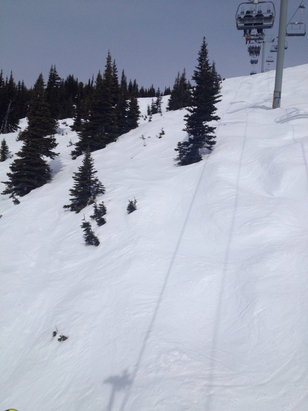 Whistler/Blackcomb - Seventh Heaven was heavenly! Awesome spring conditions today.